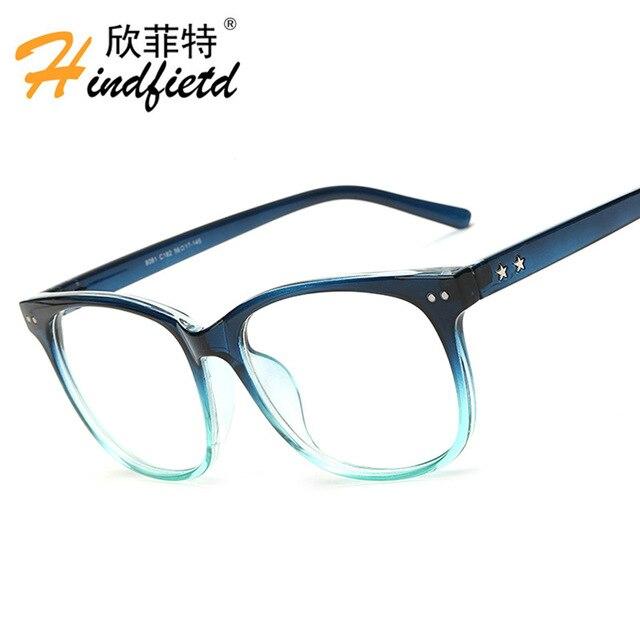 Hindfield Обычная очки Винтаж очки Для женщин Для мужчин спортивные очки оптически рамки бренда чтения