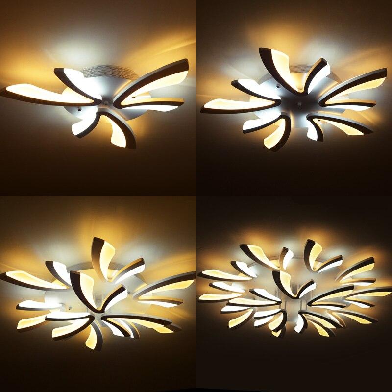 Led ceiling light for living room bedroom White Simple Plafond led ceiling lamp home lighting fixtures AC90-260V