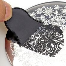 10Pcs/Lot Scraper Bell Tools Stamping Nail Art Scraper Set Nail Stamp Plates Manicure Polish Image Template Tool весы напольные tefal premiss flower white pp1070 серый рисунок