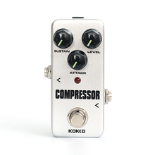 KOKKO FCP2 Mini Compressor Pedal Portable Guitar Effect Pedal High Quality Guitar Parts Guitarra Effect Pedal Guitar Accessories new effect pedal aural dream fixed harmony guitar effect pedal guitar accessories