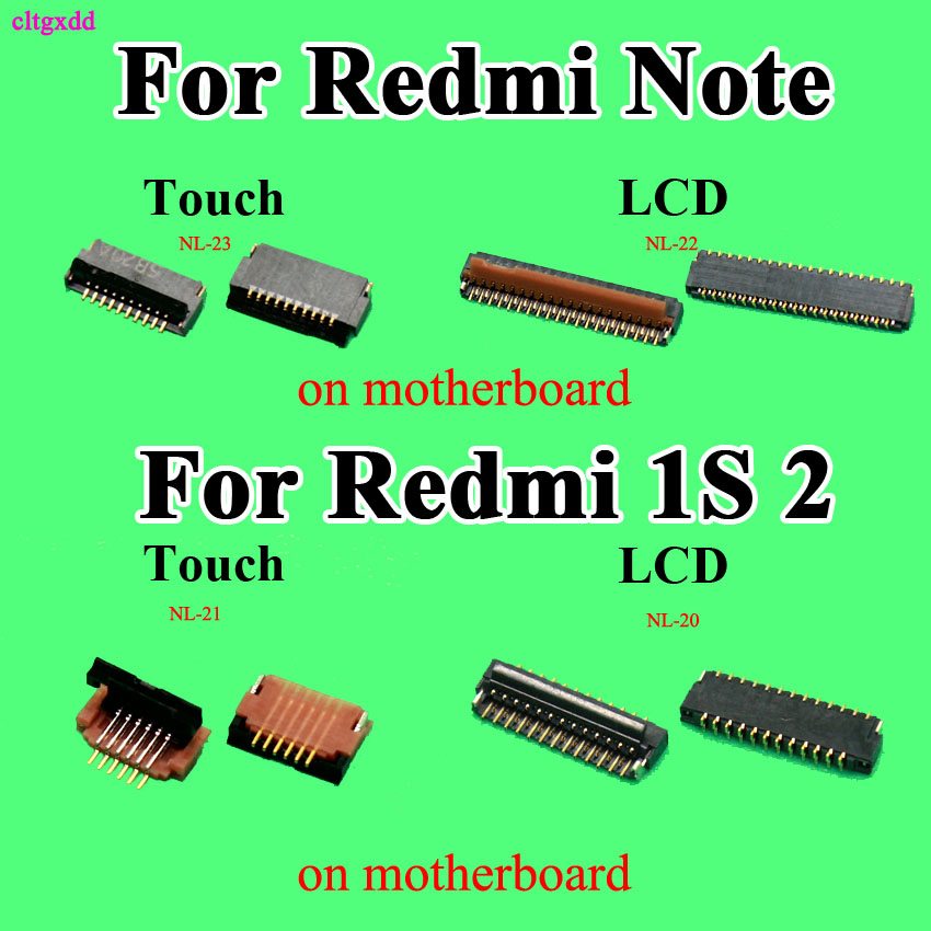 6 <font><b>39Pin</b></font> FPC connector socket for xiaomi Redmi 1s 2 note <font><b>LCD</b></font> display <font><b>screen</b></font> TP Touch digitizer <font><b>screen</b></font> Connector Port on mainboard image