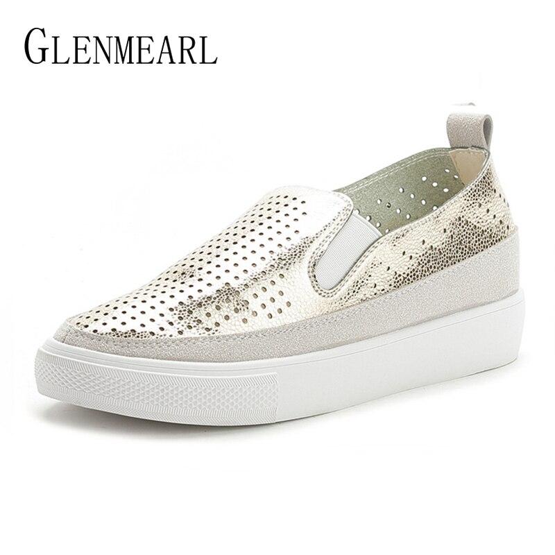 Plataforma Pisos Mujeres Mocasines Zapatos Altura de primavera - Zapatos de mujer