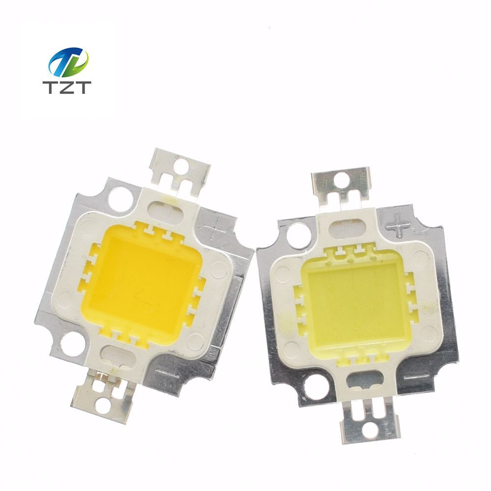 200pcs lot 10W LED Chip Bulb 10w led 900lm wam white Lamp Light white High Power