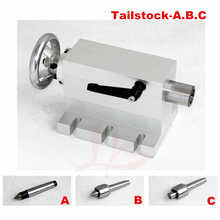 CNC Tailstock Rotary Axis A Axis 4th Axis suitable mini cnc Milling Machine - DISCOUNT ITEM  44% OFF Tools