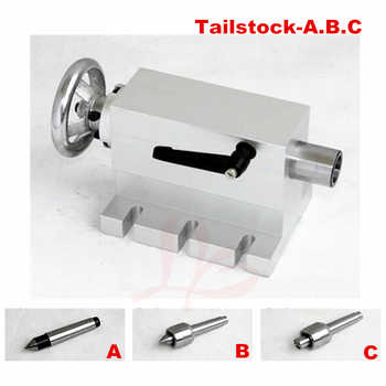 CNC Tailstock Rotary Axis A Axis 4th Axis suitable mini cnc Milling Machine