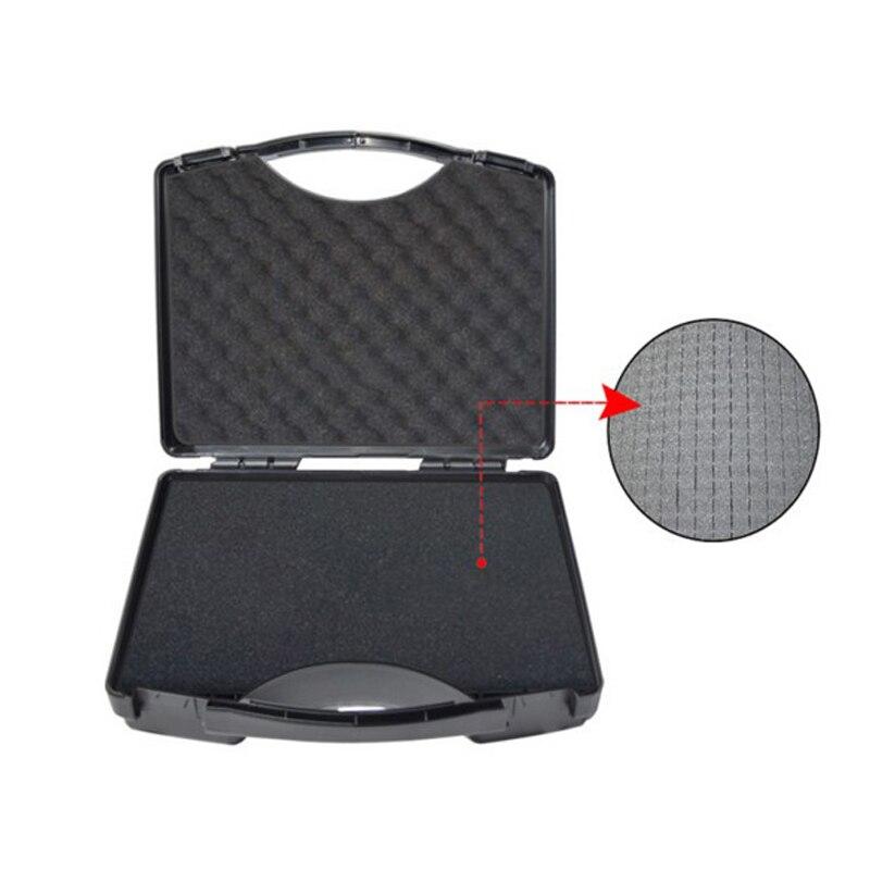 SQ2516 Portable soufflage boîte à outils en plastique dur avec mousse