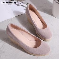 wedges shoes women high heel wedges platform shoes sy-2744 3