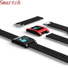 Smartch DM68 Smart Band Шагомер Браслет фитнес-трекер крови Давление монитор сердечного ритма Bluetooth браслет для Android IO