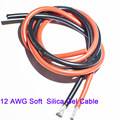12 AWG Soft Silica Gel Cable for RC Model, Battery, ESC Connections