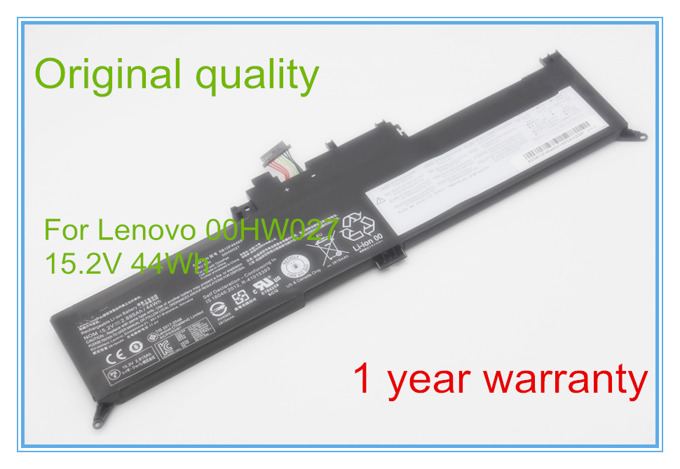 Original Laptop Battery for 00HW027 AMS FB10F46465 15.2V 2.95AH 44WH 4ICP5/54/88 цена