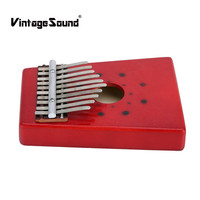 Kalimba 10Keys African Mbira Thumb Finger Piano Percussion Keyboard Traditional Musical Instrument Kids Marimba Wood Okeme