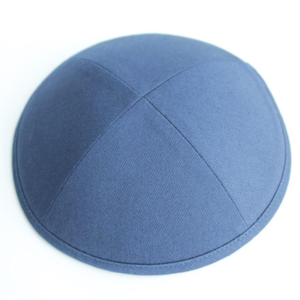 Navy blue color cotton twill kippot Jewish Yarmulke Kippah Kippot 19cm  skull capsOnline Get Cheap Kippot  Aliexpress com   Alibaba Group. Kippahs For Wedding. Home Design Ideas