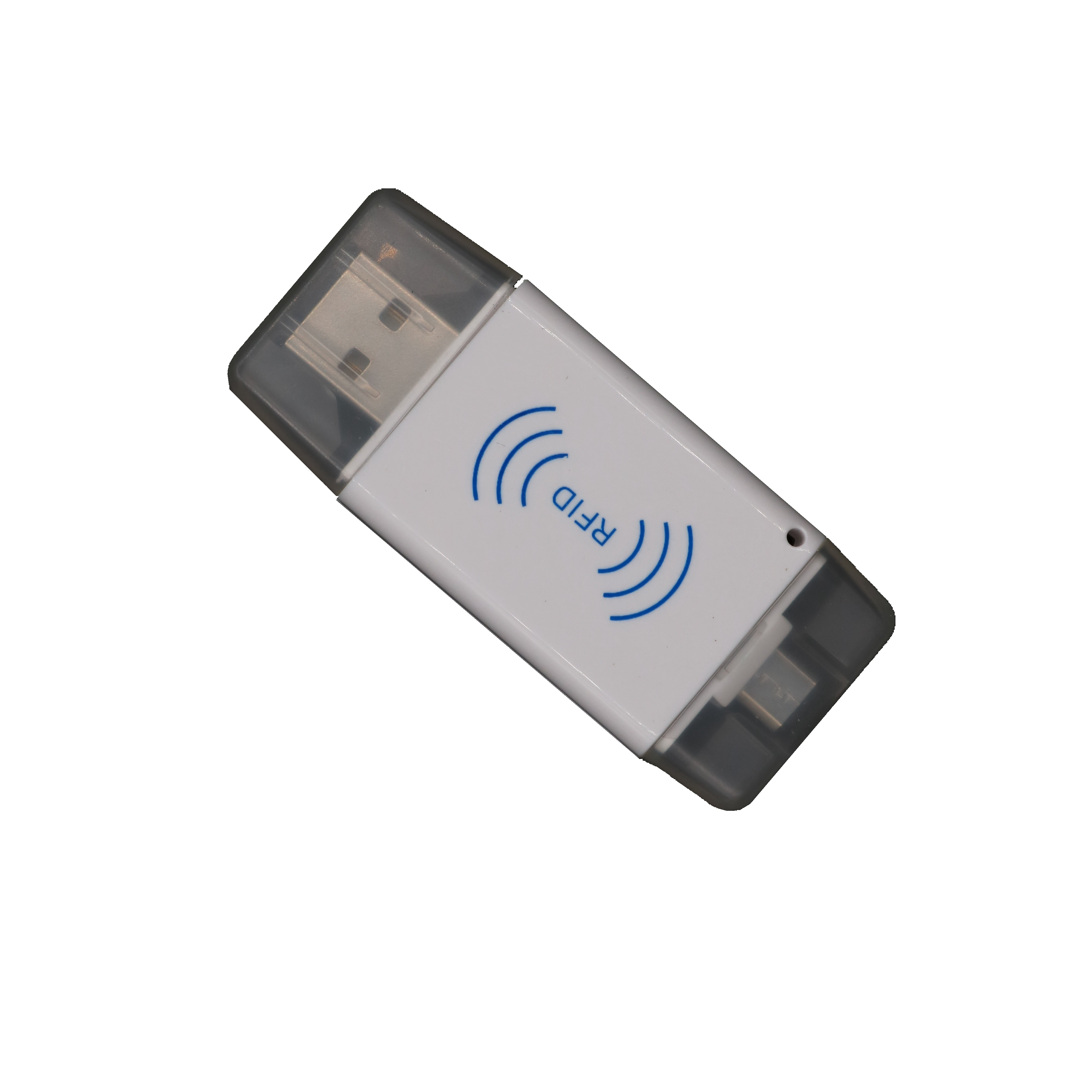 USB 125Khz RFID EM Card Reader Mirco Usb Interface For Android