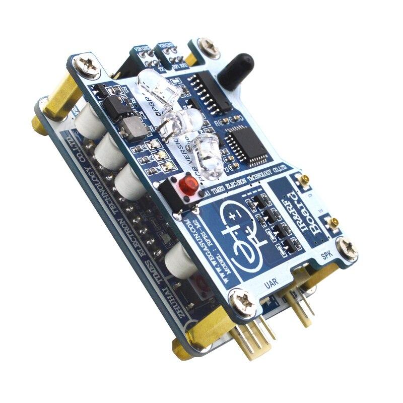 Module de reconnaissance vocale Module de Composition de contrôle de la parole Arduino Micro: bit avec longue Distance et taux de reconnaissance élevé