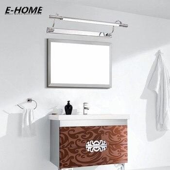 American Retro Cromo Headlights LED Mirror Light Simple Modern Toilet Seat Lighting Bathroom Makeup