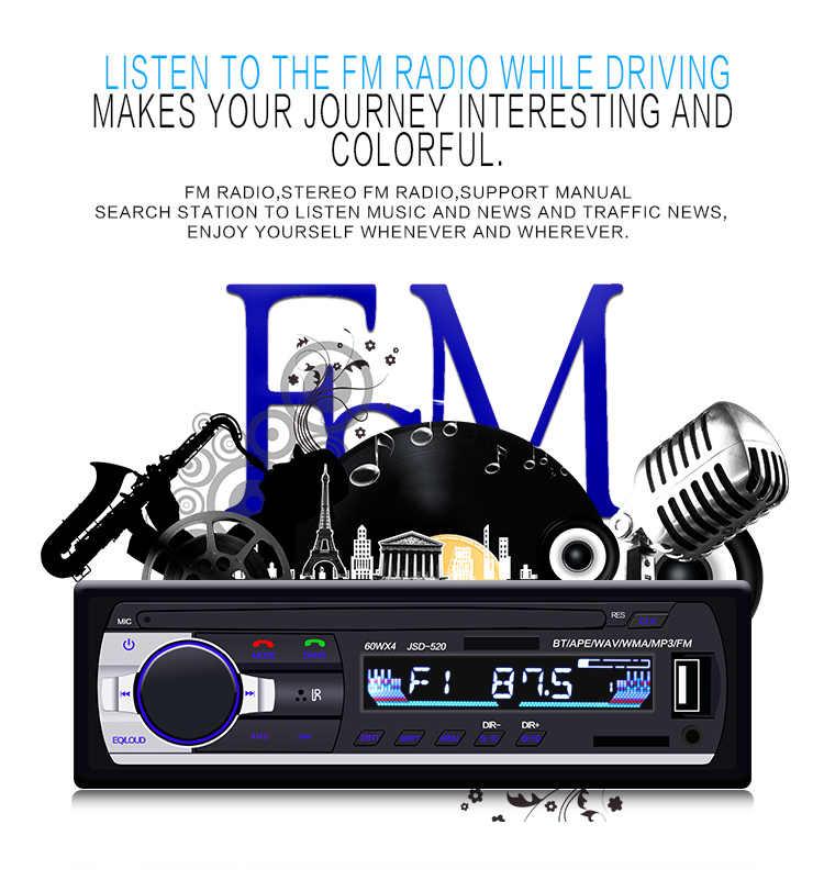 Audio de voiture 24 V Bluetooth entrée Aux tableau de bord SD USB MP3 FM lecteur Radio télécommande carte de lecture (FM) fonction de charge