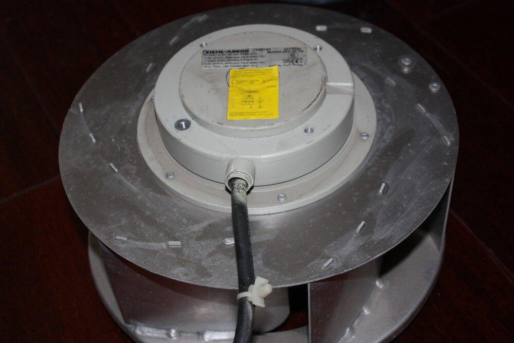 Used RH28M-2EK.3F.1R 0.54KW 540W Ziehl-Abegg VFD Fan for 70 series VFD Inverters Secondhand