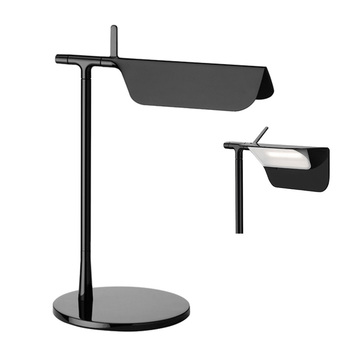 Minimalist  Industrial Loft Black\White\Yellow\Blue Beautiful and simple table lamp reading lights Study Lighting Rotatable