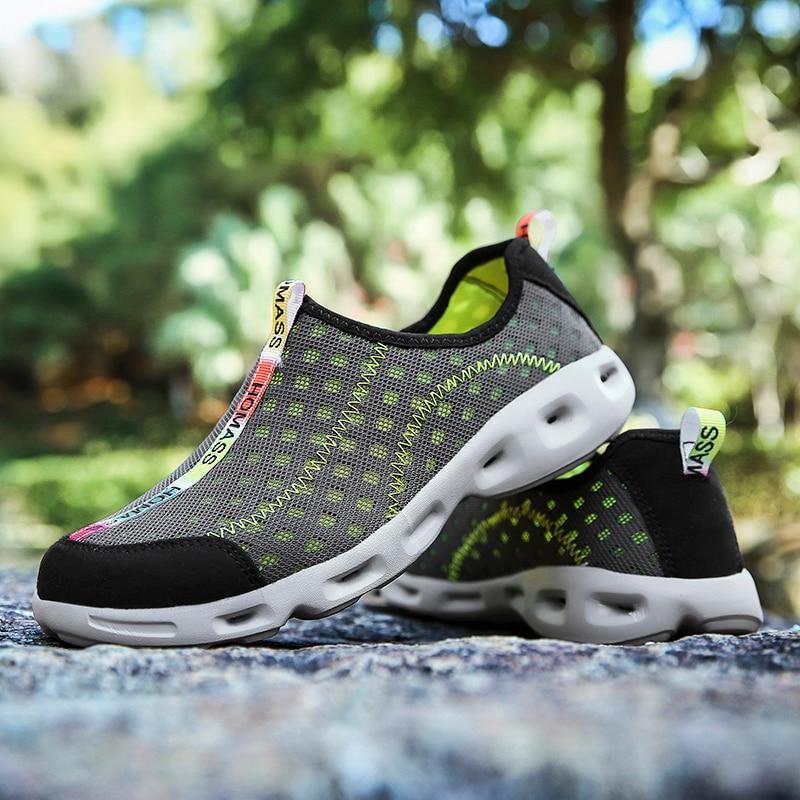 Sport & Unterhaltung Brillant 2018 Neue Sommer Atmungsaktives Mesh Schuhe Für Männer Erwachsene Frauen Paar Schuhe Non-slip Tragen-wider Bequeme Qualität Turnschuhe Geschickte Herstellung