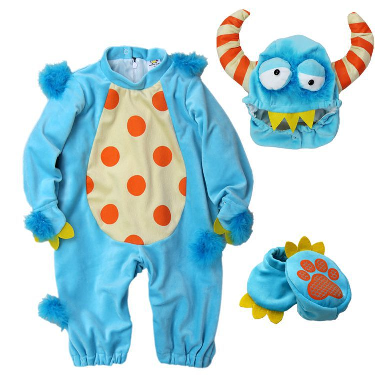 0c05f9607216 Lil  Monster baby Halloween costume Infant funny onesie Fantasia ...