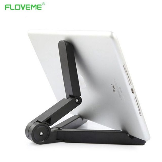 FLOVEME Mobile Phone Stand Holder 360 Degree Rotate ABS Desktop Tablet PC Lazy Support Holder Bracket For Apple iPhone Samsung