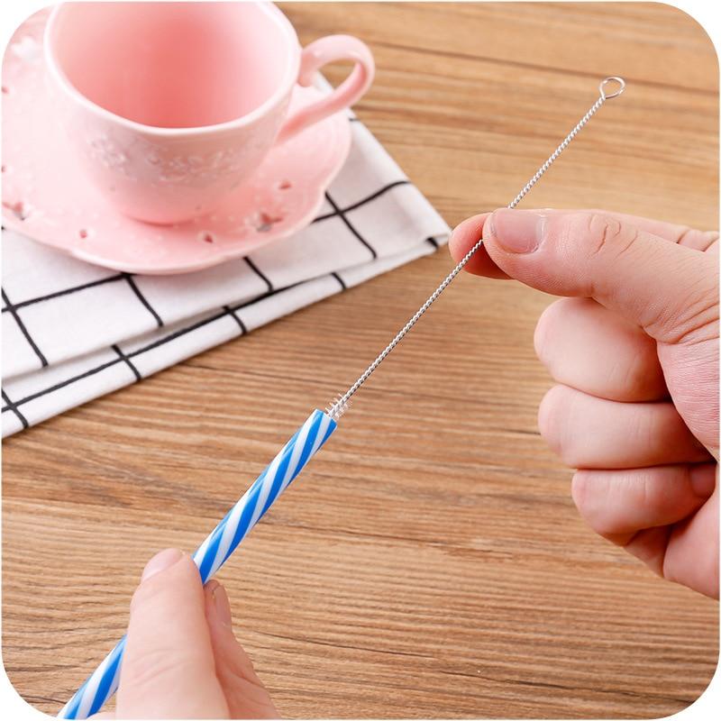 1pc Straw Cleaner Brush Baby Straw Brush Feeding Bottle Brush