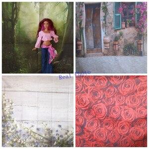 Image 2 - Fondos fotográficos personalizados de la boda de la muchacha escénica de los árboles del bosque verde de la primavera de Yeele para estudio fotográfico