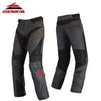 BENKIA Motorcycle Pants Windproof Men Protective Pants Motorbike Moto Pantalon Motocicleta Moto Trousers For Summer PS22