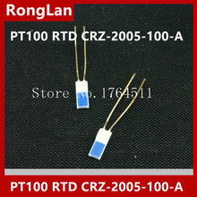 [BELLA] [Imported] Japan Lin electrician high precision thin film Thermal Resistance PT100 PT1000 RTD CRZ 2005 100 A   50pcs/lot