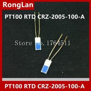 Image 1 - [Bella] [importado] japão lin eletricista alta precisão filme fino resistência térmica pt100 pt1000 rtd CRZ 2005 100 A    50 pçs/lote