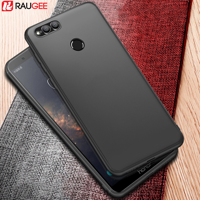 Raugee Huawei Honor 7X Case Bumper Back Cover Protector UltraThin Frosted Matte...