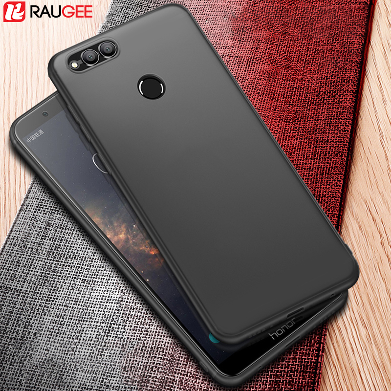 Galleria fotografica Raugee <font><b>Huawei</b></font> Honor 7X Case Bumper Back Cover Protector UltraThin Frosted Matte Soft Silicon TPU Case for <font><b>Huawei</b></font> Honor 7X fundas