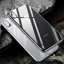 Clear Silicon Soft TPU Case For iPhone X XS MAX XR Transparent Phone Cases For iPhone 8 Plus 7 Plus 6 6s Plus 5 5s SE цена и фото