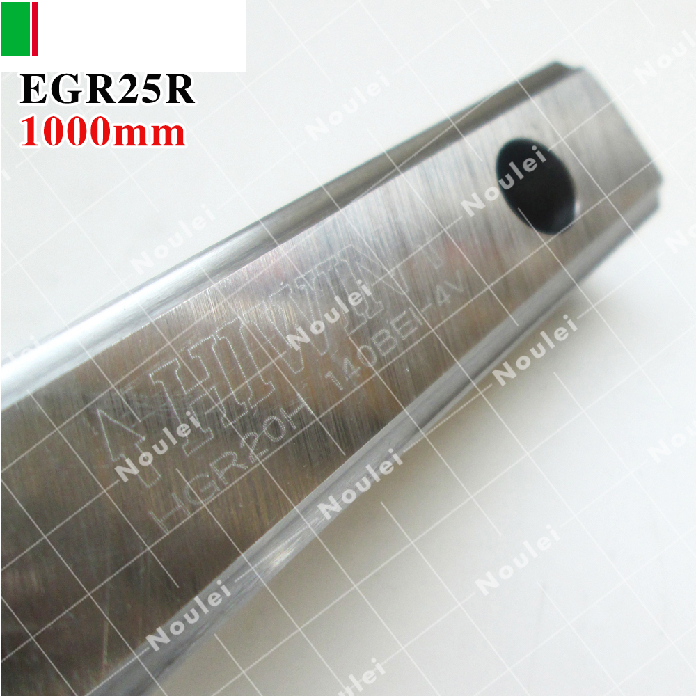 HIWIN EGR25 linear guide rail 1000mm for CNC router shaft 1000 mm hiwin egr15 3000mm linear guide rail 3000 mm for custom length cnc kit