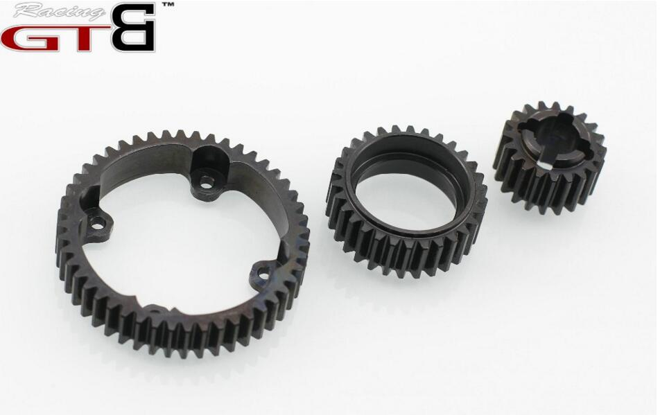Gearbox steel gear  For 1/5 HPI Baja  5B  5T 5SC alloy front hub carrier for 1 5 hpi baja 5b 5t 5sc