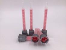 25PCS TZ-FBX516L 10:1 FMB5-16L static mixing tube needle AB glue nozzle mixing head square mixer adhensive dispensing nozzle цена и фото