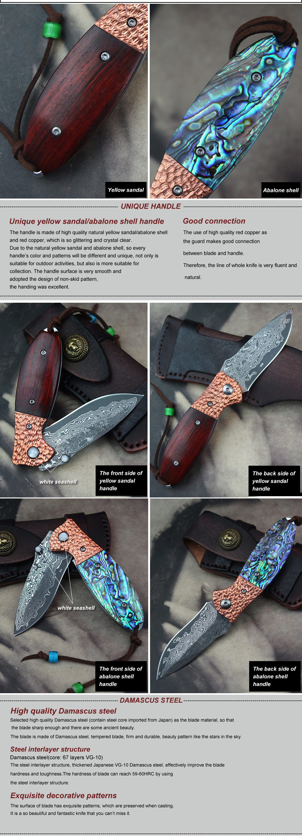 Antique Damascus Steel Dagger With Leather Sheath Firm In Structure Metalware Decorative Arts