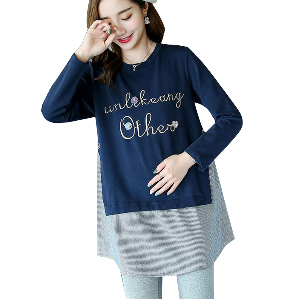 43350012f9f ... Maternity Blouses Tops Pregnancy Clothes For Pregnant Women Clothing  Casual Korean Version Fashion Shirt Maternity Wear ...