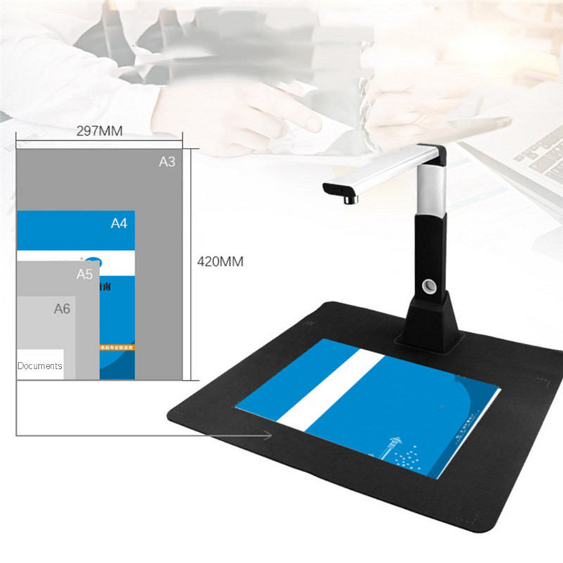 Netum SD2000 Mini A3 10Mega Document Book Photo ID Scanner Camera High speed fast response for