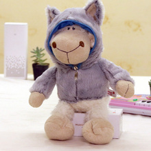 Stuffed & Plush stitch Animals Toys Soft toys Sweetie animals Wolf skin sheep hat funny