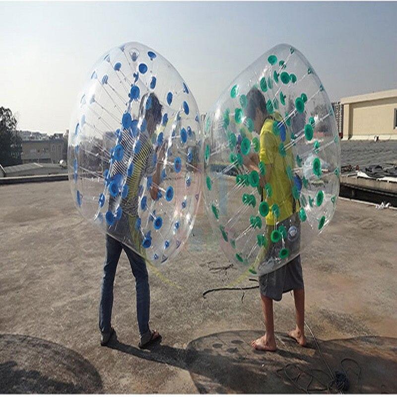 Boule pare chocs 1 M (3.28 pieds) de diamètre, boule à bulles, utilisation pour jouer au football, jeu de plein air pour enfants, jouets de plein air - 6