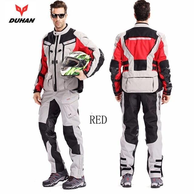 O envio gratuito de 1 conjunto Da Motocicleta Dos Homens Jaqueta de Moto  Jaqueta de Motocross b4a3d210de773