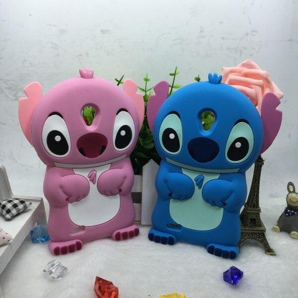 Lenovo A319 case 3D silicone cartoon stitch case soft back shell for Lenovo A319 mobile phone cover