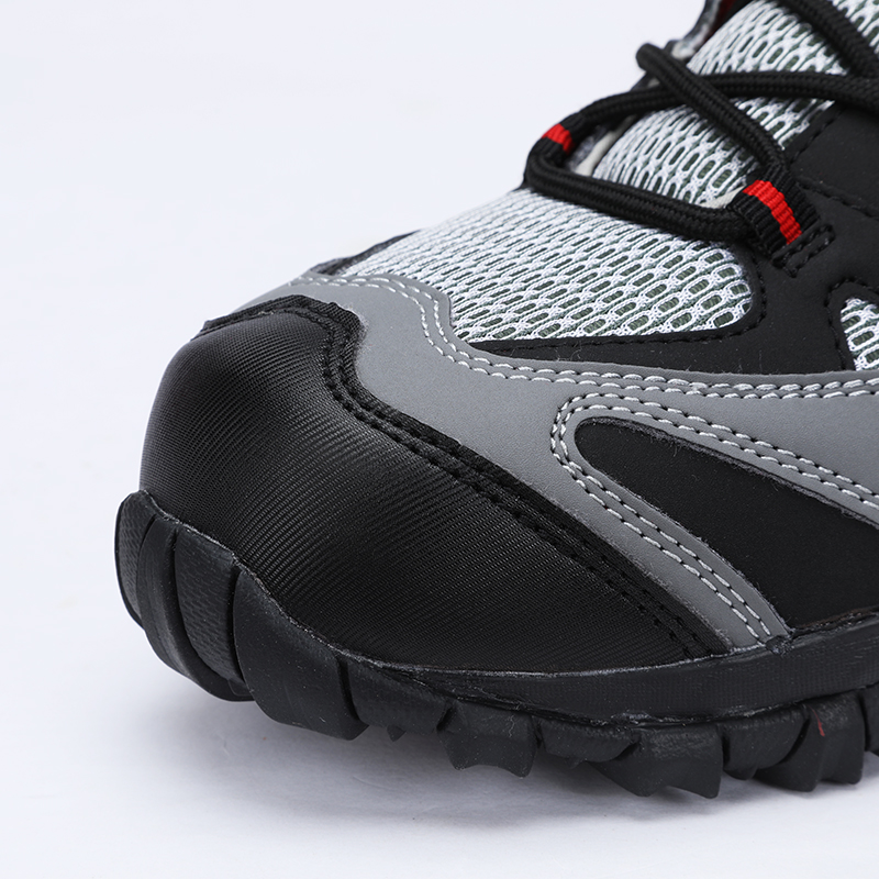 Image 2 - Mens Safety Shoes Leather With Steel Toe Cap Work boots Outdoor Light Weight Working Shoes-in Safety Shoe Boots from Security & Protection