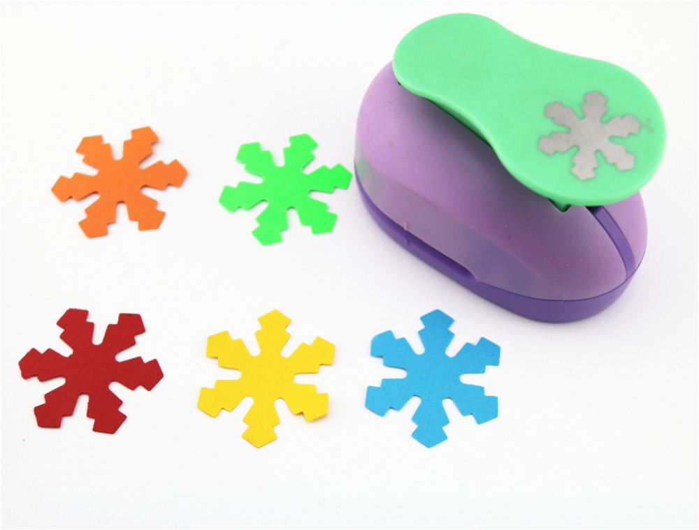 Snowflake 2'' craft punch paper cutter scrapbook child craft tool hole punches Embossing device kid S2935-2 цена