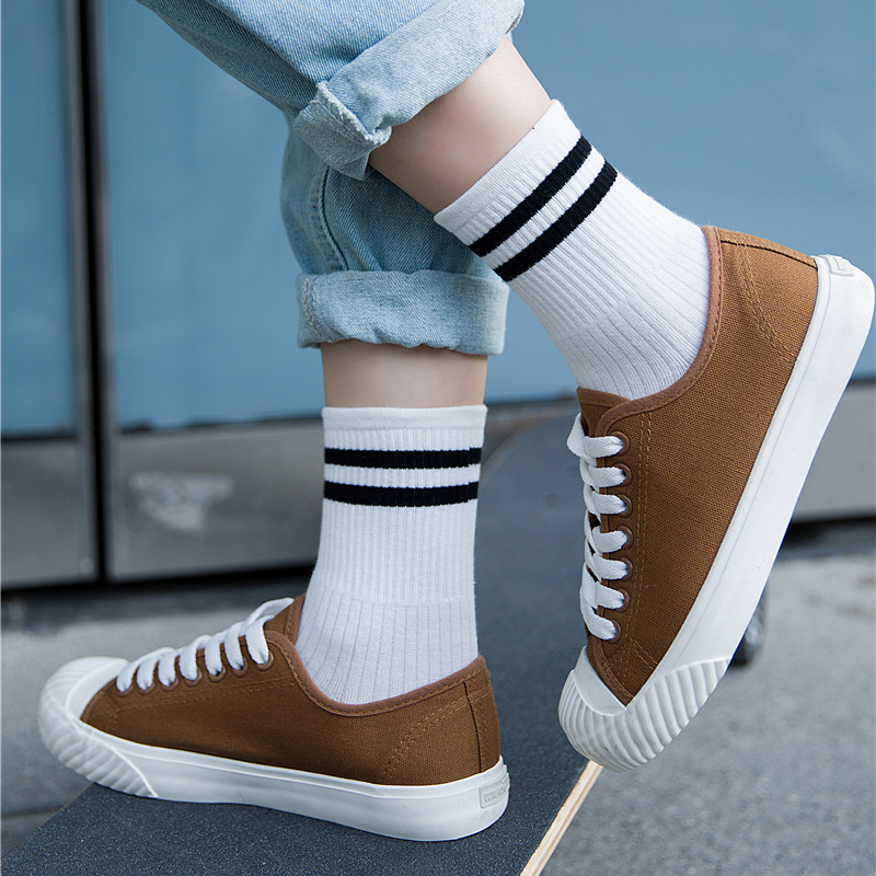 Unisex socks male & female student socks gift set MvFw7nEA