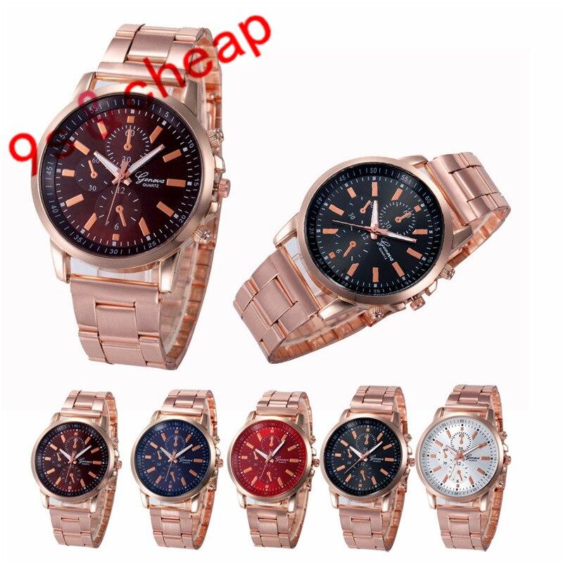 Stainless Steel Sport Quartz Hour Wrist Analog Watch 3369 Brand New High Quality Luxury Free