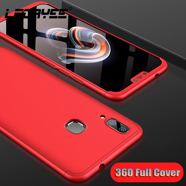 hot sales 8ff8d 42f76 US $3.2 |LECAYEE For Vivo V9 Youth Case For vivo V9 Y85 Y81 Y83 Y71 V7 Plus  Matte Back Cover For vivo Y81 360 Full Cover Case With Glass-in Fitted ...