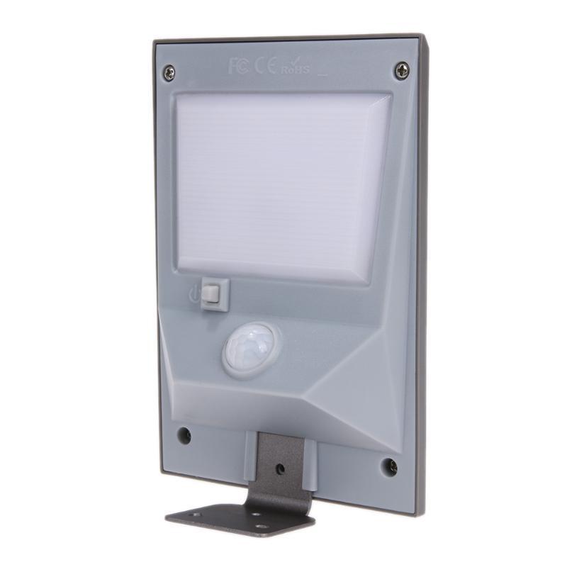 18 LED Waterproof Solar Powered Body Motion Sensor Wall Light Security Outdoor Emergency Light for Street Yard Path Garden
