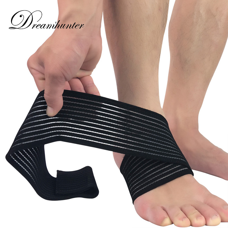 Elastic Anti Sprain Ankle Protectors Outdoor Football Ankle Brace